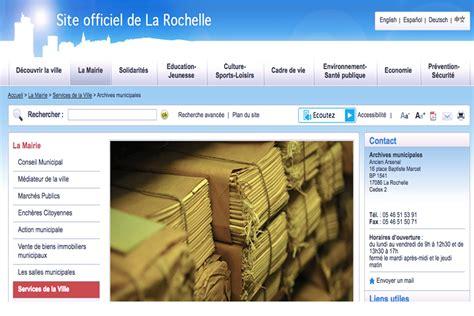 Magazine Maison Et Travaux 1641 by La Rochelle Met En Ligne De Pr 233 Cieux Documents Sur