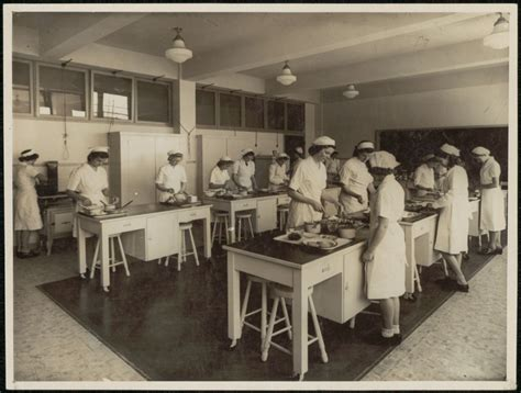 home economics kitchen design photographic collection nsw state archives