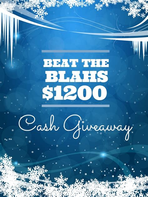 Beat The Winter Blahs by 1200 Beat The Blahs Giveaway Dimple Prints