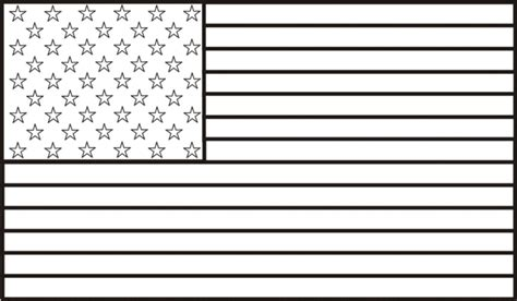 A Coloring Page Of The American Flag by American Flag Coloring Page American Flag