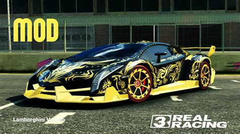 lamborghini golden racing 3 lamborghini veneno with golden tribal