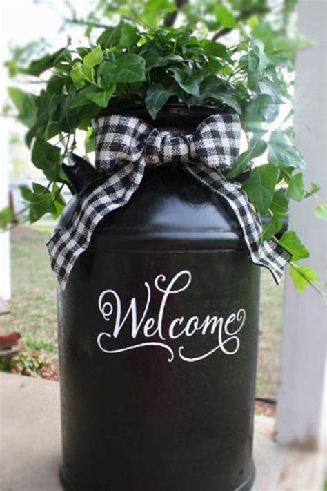 25 best ideas about milk can decor on foyer