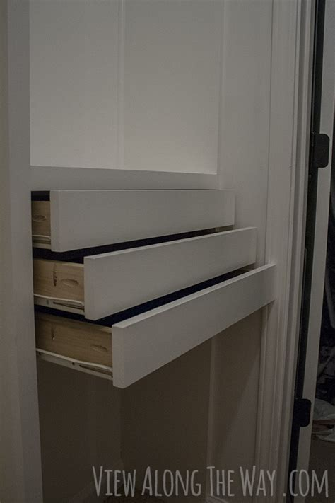 Drawer For Closet by Diy Closet Organizer Drawers Plans Free