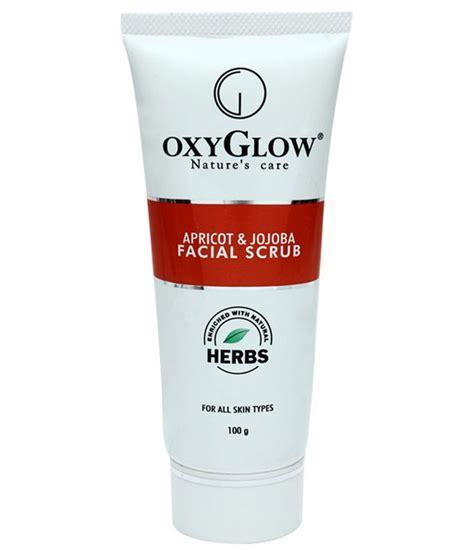 Oxy Glow oxy glow apricot jojoba scrub 100gm buy oxy glow