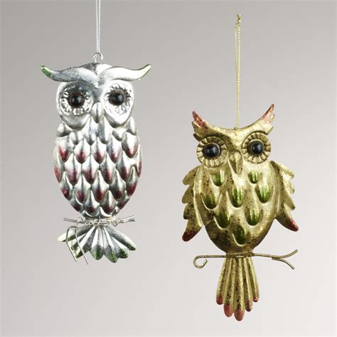 owl christmas ornaments pictures photos