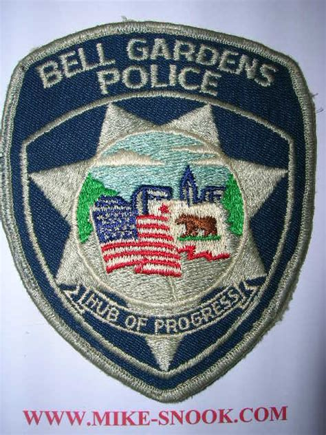 Bell Gardens Department by Mike Snook S Enforcement Collection Contact