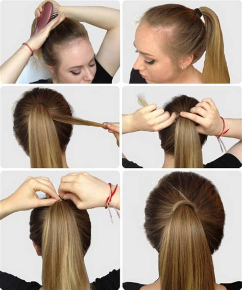 Easy Hair Styles For College by Simple Hairstyles For Hair Step By Step