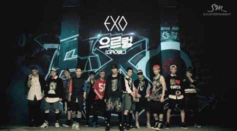 exo growl lyrics exo growl korean ver lyric rom eng indo lirik lagu