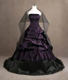 purple and black wedding dress purple wedding dressescherry cherry