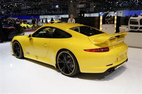 Tech Art Porsche by Geneva 2012 Techart Tuning Program For The New Porsche 911