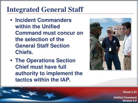 the operations section chief ppt unit 3 unified command powerpoint presentation id