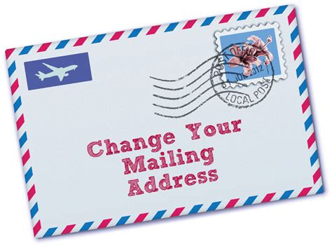 Post Office Forwarding Address Search How To Change Your Mailing Address