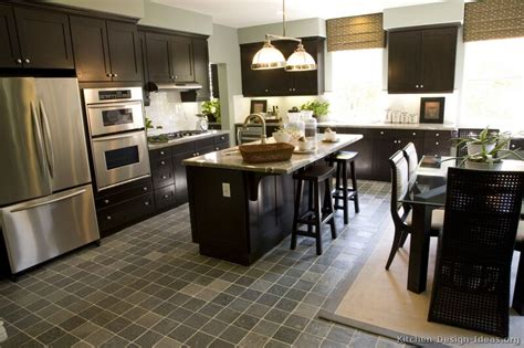 Dark Wood Kitchen Island by Black Friday Kitchen Of The Day Shaker Espresso