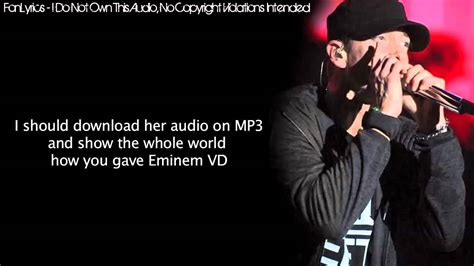 eminem the real slim shady lyrics eminem the real slim shady lyrics youtube