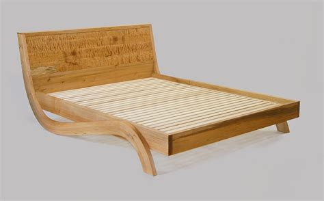 inclined bed mapleart custom wood furniture vancouver bcgardenia bed