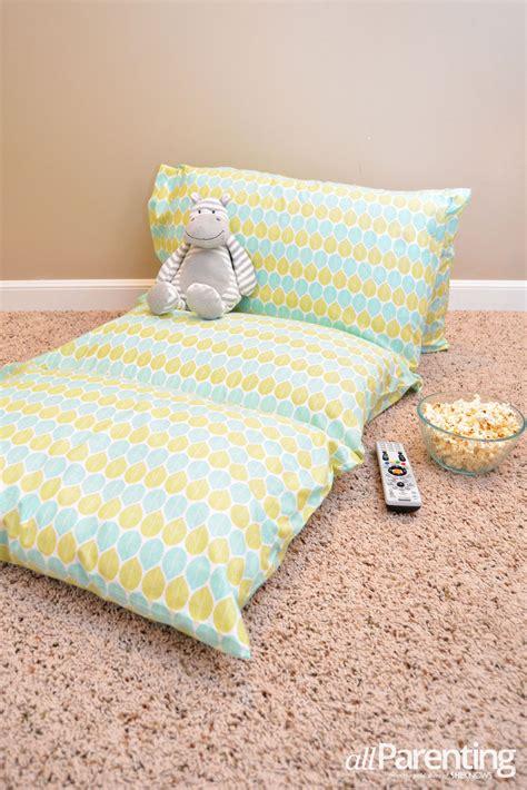 diy pillowcase lounger