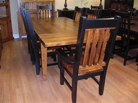 table chairs and bench rustic kitchen table with bench house interior design