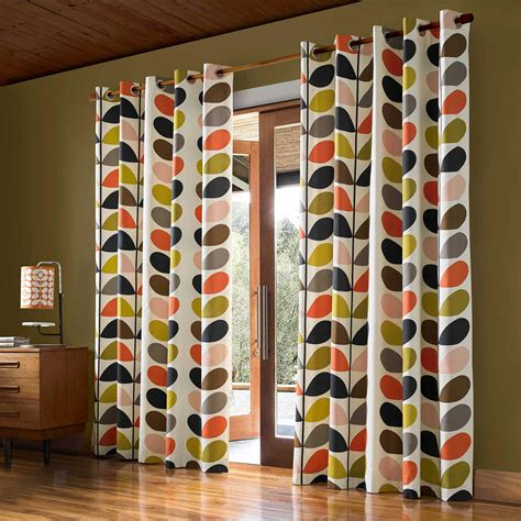 orla kiely curtains orla kiely linear multi stem curtains