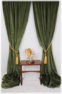 green draperies superb forest spruce green velvet curtains bespoke