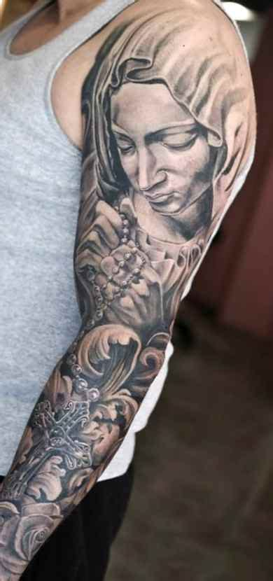 black grey cross tattoos sleeve ideas for designs ideas for
