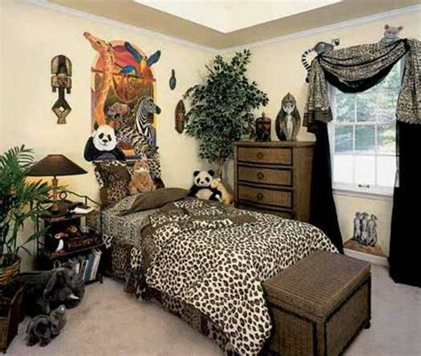 safari bedroom exotic trends in home decorating bring animal prints into
