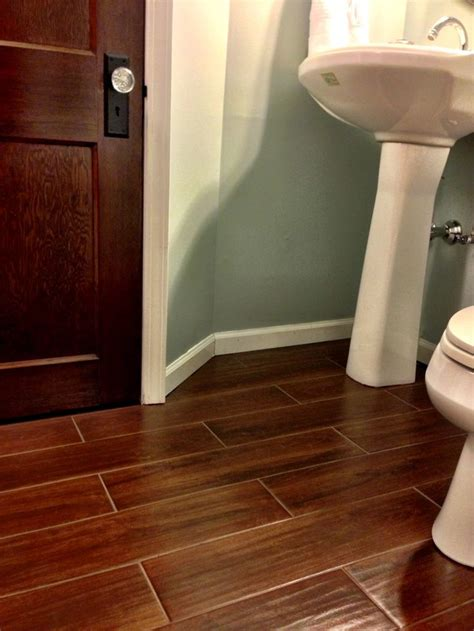 wood bathroom tiles available at lowes home is where my