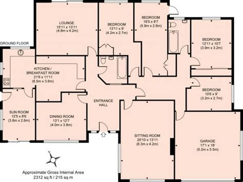 house floor plan sle 3d bungalow house plans 4 bedroom 4 bedroom bungalow floor