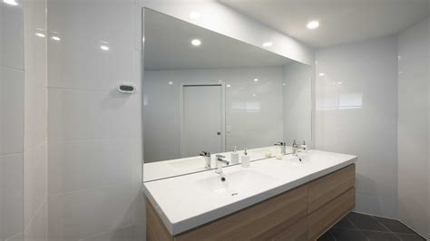 splashback in bathroom mirrors bathroom ensuite geelong splashbacks reflect
