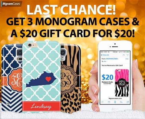 Mgramcases Gift Card - free 20 gift card