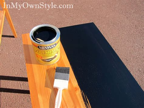 Best Method To Paint Kitchen Cabinets Painting Furniture Black Stain Vs Black Paint In My Own