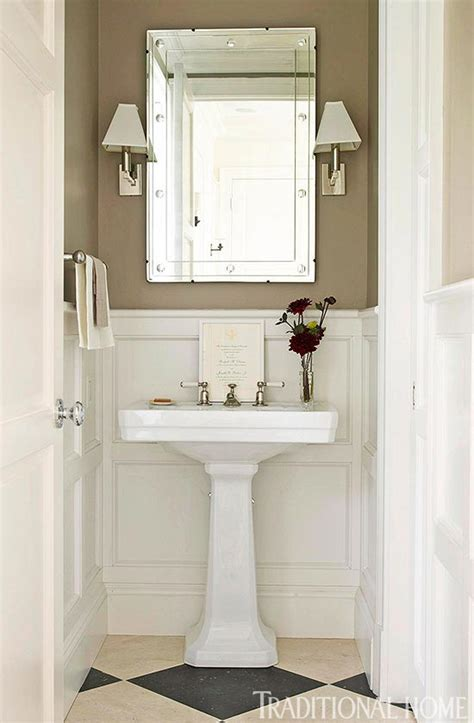 Small Powder Room Vanity - create a smashing powder room traditional home