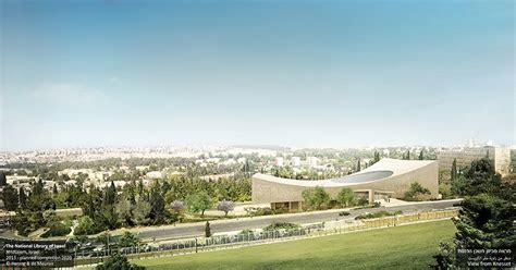 designboom israel herzog de meuron national library of israel breaks ground