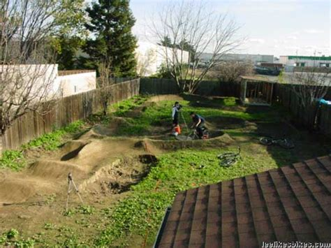 Backyard Pumptrack by Triyae Backyard Track Layout Various Design