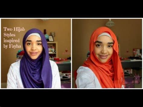 tutorial pashmina arabian style my everday hijab style fayha s inspired hijab styles with