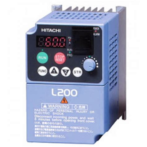 Hitachi Hfc Vws Ac Motor Frequency Inverter 3 Phase 380 V 25kw Baru 5hp 460v hitachi vfd inverter ac drive l200 040hfu
