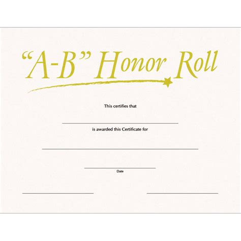 free printable honor roll certificates quotes