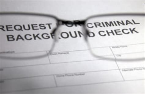 how do you if you a background check reviewed how you do criminal background checks lately