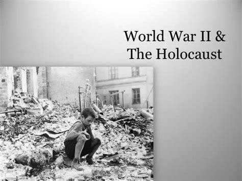 Holocaust Wwii Ppt World War 2 Powerpoint Template
