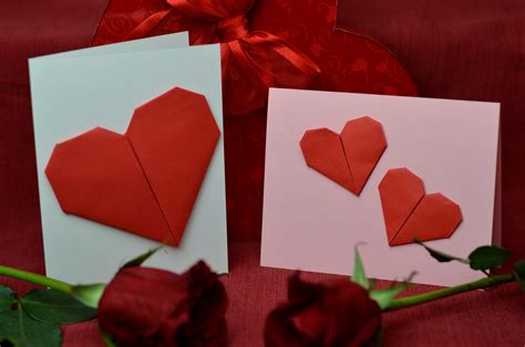 Origami Valentines Day - top 10 ideas for s day cards creative pop up cards