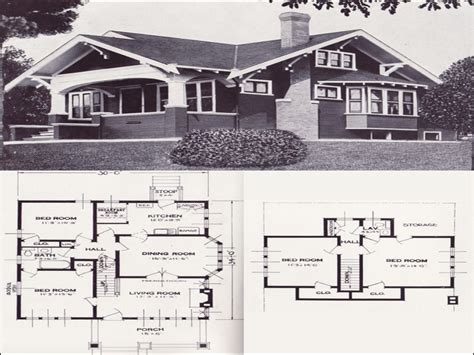1910 house plans 1910 craftsman bungalow kitchens 1920s craftsman bungalow