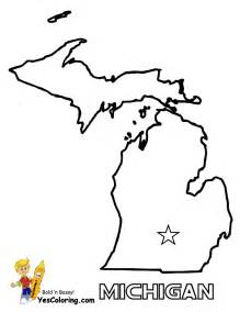 Printable Outline Of Michigan by Free State Maps Massachusetts South Dakota Map Outline Map Of Us States