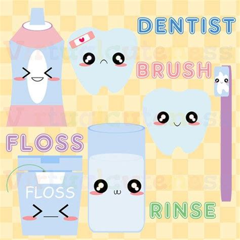 How To Make A Toothbrush Out Of Paper - weekly planner teeth and planners on