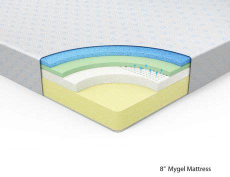Walmart 8 Inch Memory Foam Mattress by Spa Sensations 8 Inch Gel Memory Foam Mattress Walmart Ca