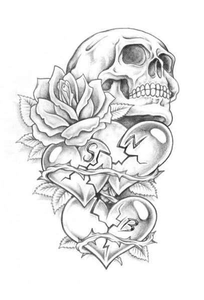3d tattoo zeichnen 1000 ideen zu totenk 246 pfe auf pinterest sch 228 delkunst