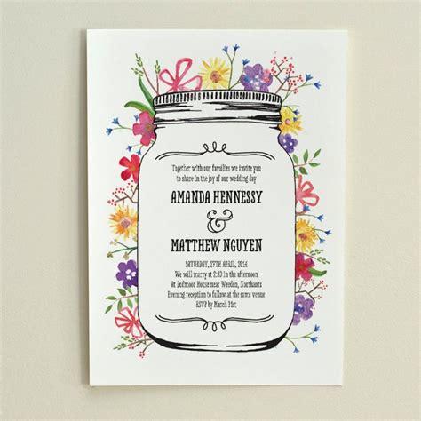 watercolor wedding invitations diy watercolor garden wedding invitation diy printable pdf template 2573123 weddbook