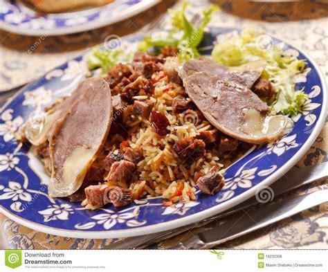 uzbek national dish uzbek national dish royalty free stock photos image