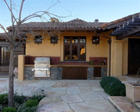 Outdoor Kitchen Against House | is this bbq against the house wall tuscan villa s