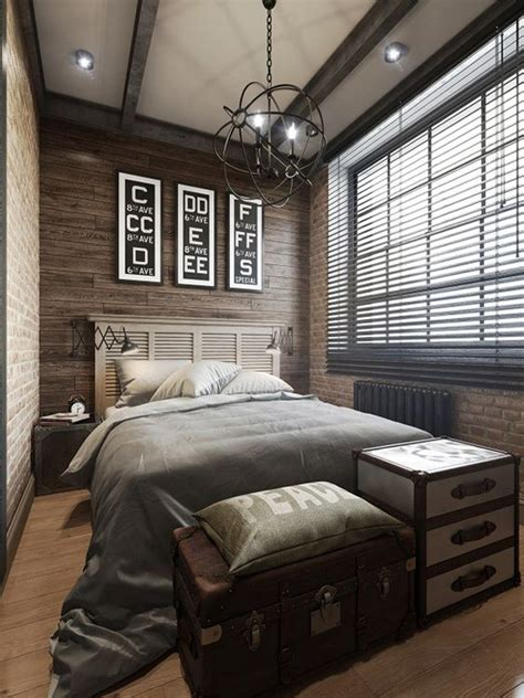 Wood Paneling For Bedroom Walls by Wood Paneling And Brick Bedrooms
