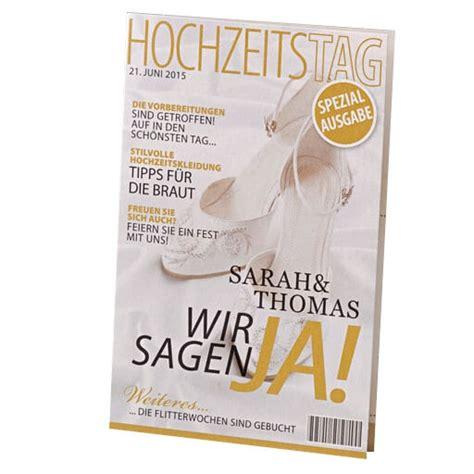 Zeitschrift Hochzeit by Einladungskarte Quot Alona Quot Hochzeitseinladung Als