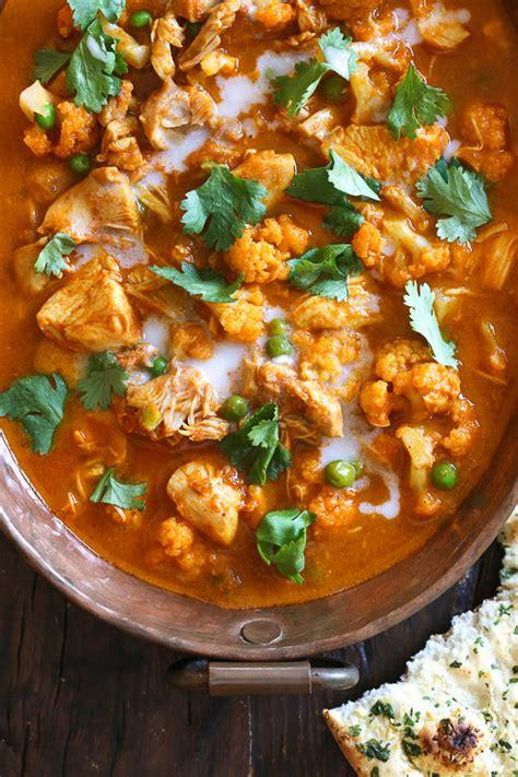 instant pot chicken tikka masala instant pot chicken tikka masala with cauliflower and peas